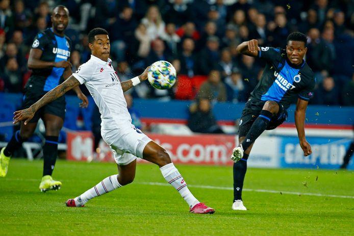 Kimpembe in actie tegen Club Brugge.
