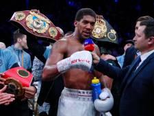 Anthony Joshua tient sa revanche et récupère ses ceintures