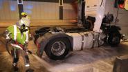 Vrachtwagens botsen in Beverentunnel, geen gewonden maar veel hinder