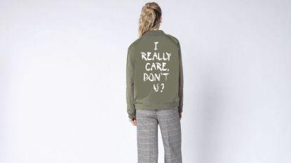 Modemerk brengt een 'I really care, don't u?'-jas uit als reactie op Melania Trump