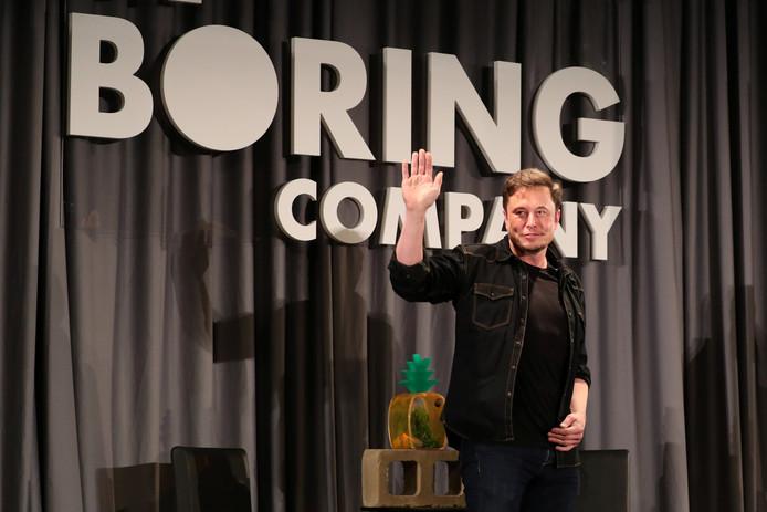 Elon Musk sleept met zijn Boring Company een miljardenopdracht binnen