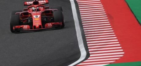 P3 voor Verstappen na blunders Ferrari, 80ste pole Hamilton