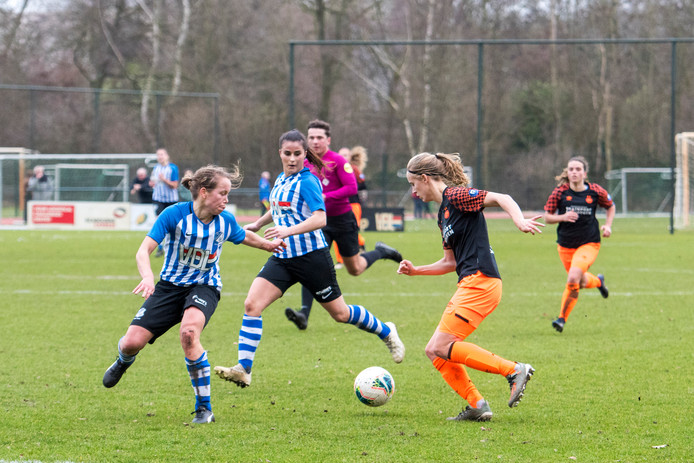 De stadsderby tussen FC Eindhoven en PSV