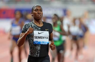 Semenya kiest voor 3000 m in Diamond League