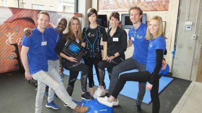 """Evy Gruyaert (39) opent E-Fit center in Driespoort Shopping: """"Afvallen en spieren kweken gaat sneller in elektrodenpak"""""""