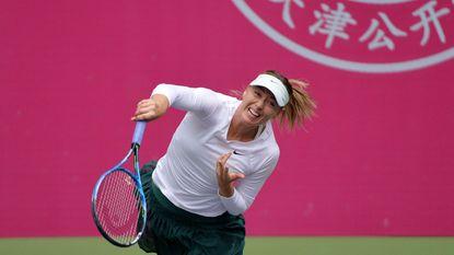 Sharapova maakt indruk in China - Monfils en Gasquet geven verstek voor European Open