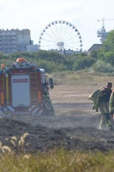 Zeer grote brand in duingebied Scheveningen onder controle
