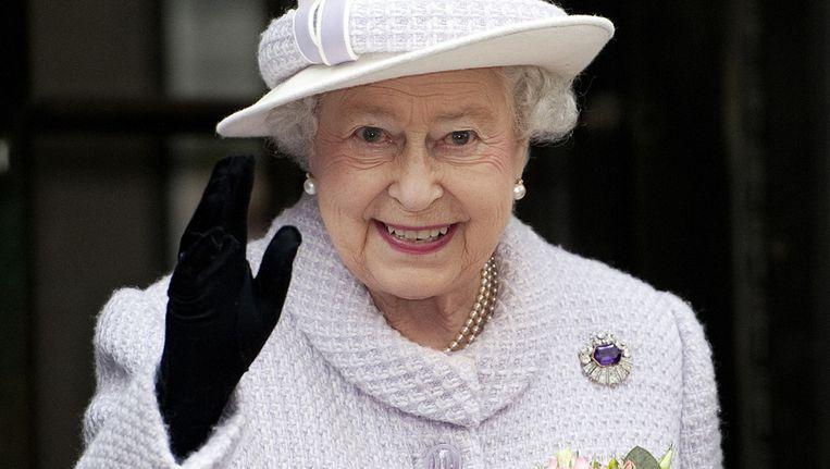 Koningin Elizabeth II Beeld afp