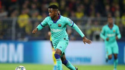 Football Talk. Eindelijk Spaans paspoort voor Barça-sensatie Ansu Fati - Qatar Airways nieuwe shirtsponsor Eupen