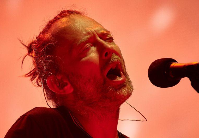 Hackers hadden de opnames gestolen uit het digitale archief van Radiohead-zanger Thom Yorke en eisten losgeld.  Beeld EPA