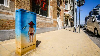 Elektriciteitskasten in hip jasje met streetartproject 'Tour Elentrik'