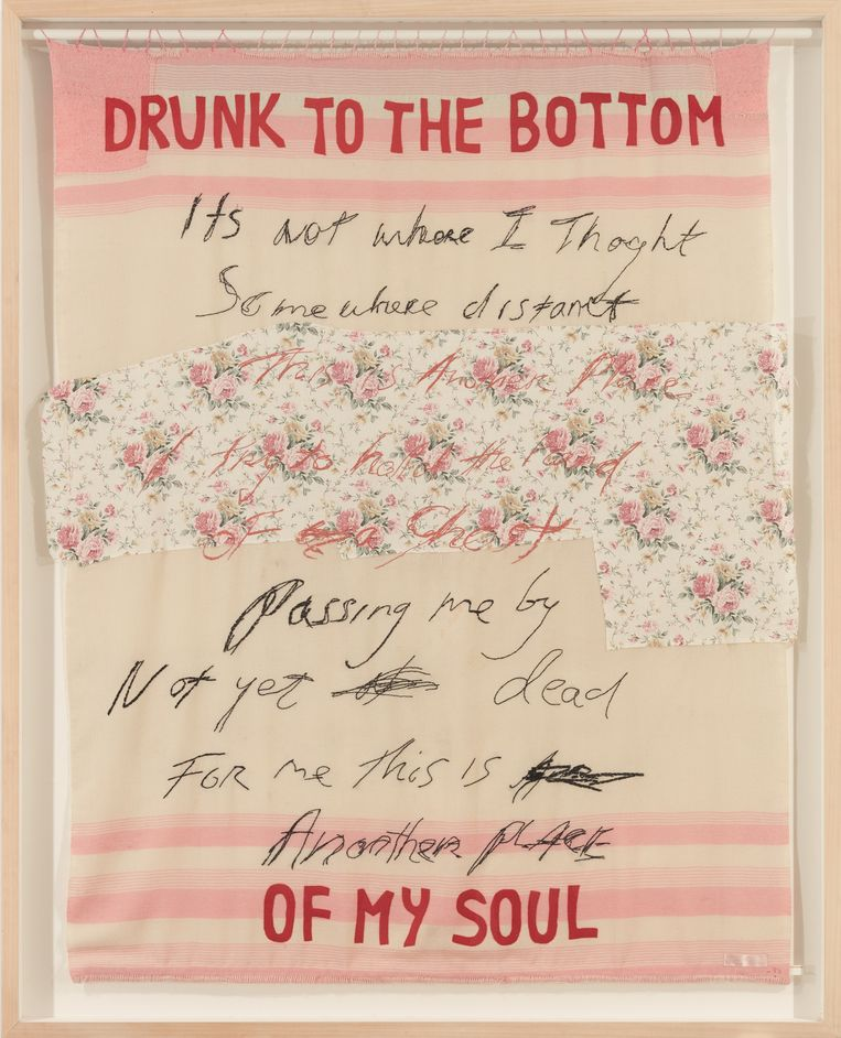 Drunk to the Bottom of my Soul, Tracey Emin, 2002. Beeld