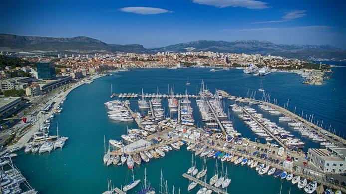 La ville de Split.