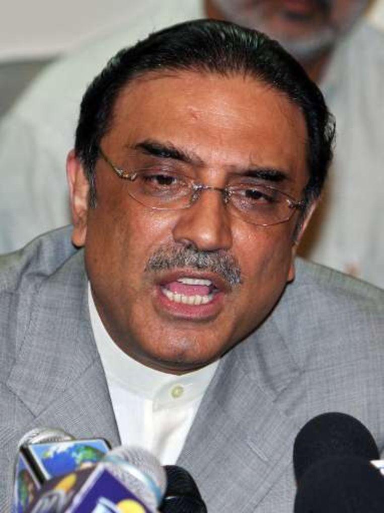 Asif Ali Zardari, alias Mr Ten Percent.
