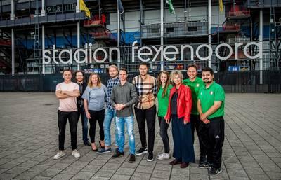 Rotterdamse studenten scoren bij de vleet in Feyenoord City