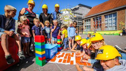 Leerlingen helpen mee met verbouwingen in Polderhart