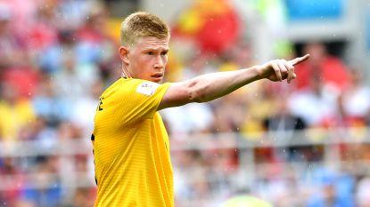 """De Bruyne: """"Rekenen tegen Engeland? Dat lijkt me niet nodig"""""""
