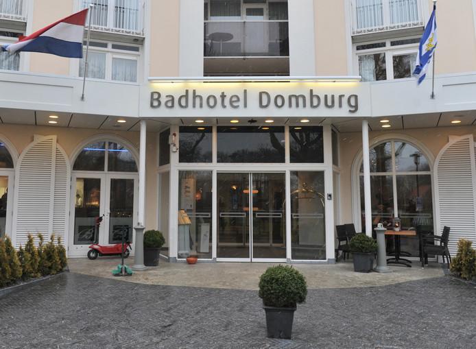 Het Badhotel in Domburg.