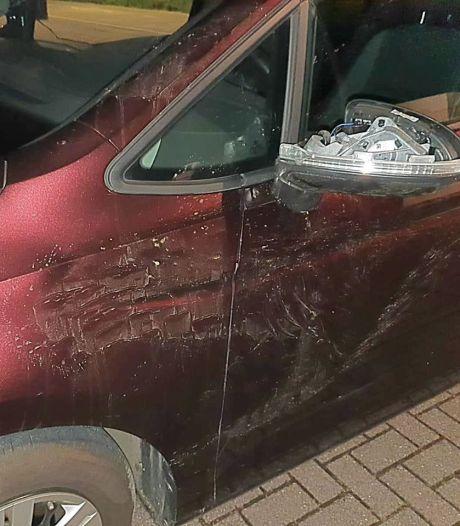 Man vlucht na inbraak in Clinge en wordt geschept door auto