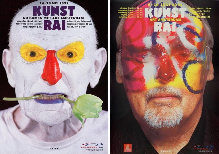 Poster voor de KunstRAI (1997) Beeld Anthon Beeke