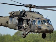 Drie militairen omgekomen bij helikoptercrash VS