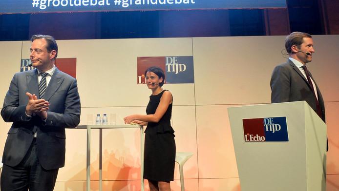 Lors de la campagne de 2014, Bart De Wever et Paul Magnette avaient participé à un débat organisé par L'Echo et De Tijd. Ce débat n'aura pas lieu cette année.