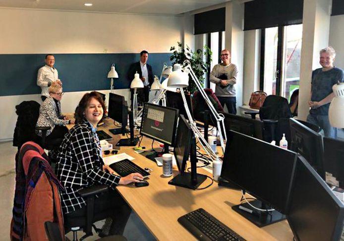 Een speciaal team van Stroomopwaarts houdt zich fulltime bezig met de Tozo-aanvragen.