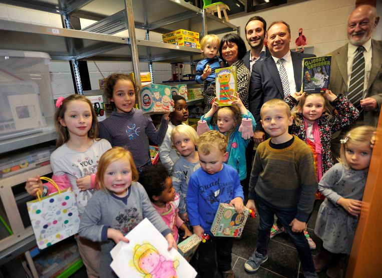De spelotheek is één van de initiatieven van het Huis van het Kind.