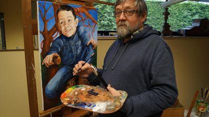 Portretschilder zoekt leerlingen met talent