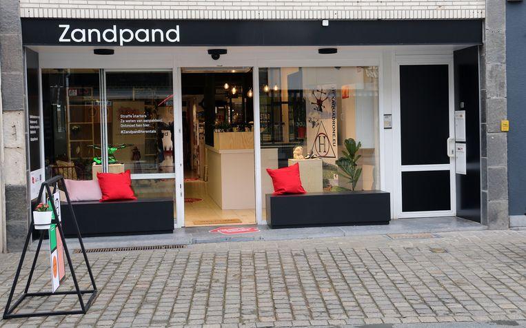 Het Zandpand is te vinden in Zandstraat 25.