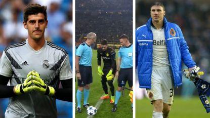 Van Courtois tot Jorgacevic: Dortmund-keeper lang niet enige doelman met opvallend ritueel
