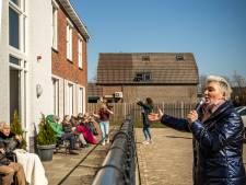Zangeres Heidi bij Het Hurkhuis in Helmond