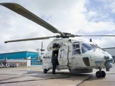 Acht NH-90 helikopters verhuizen van Gilze-Rijen naar De Kooy