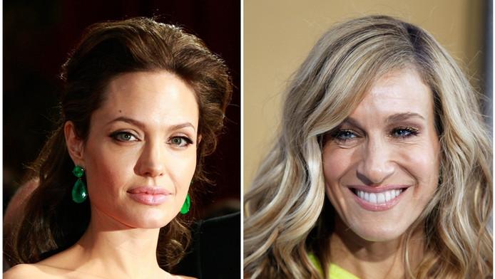 Angelina Jolie en Sarah Jessica Parker voeren de lijst van best verdienende actrices aan.