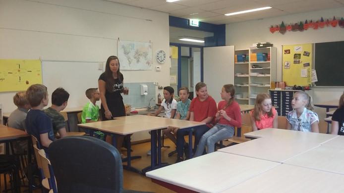 De eerste schooldag van Lieke van Iperen.