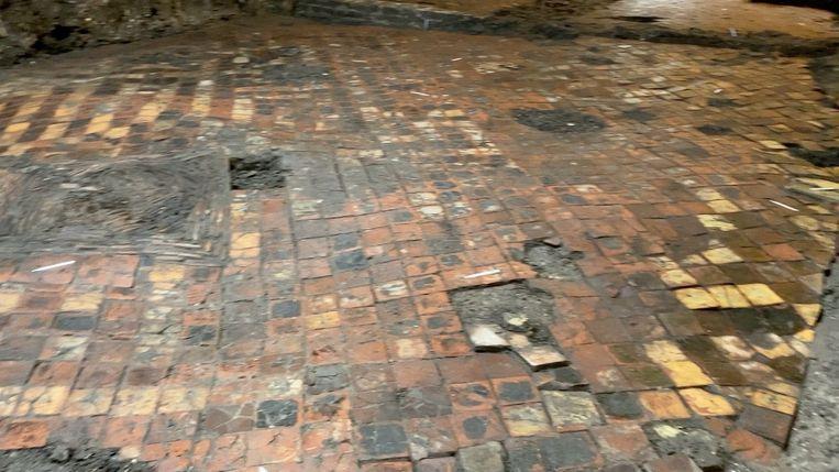 De bijzondere vondst in Brugge.
