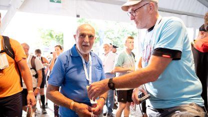 """Oudste deelnemer Hendrik Dupont (90) fluitend over finish: """"Ik heb nergens pijn"""""""