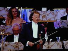 Walskoning André Rieu schittert ook op het witte doek in Rosmalen