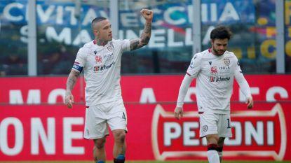 Afgeweken knal van Nainggolan kost Lukaku en Inter de zege tegen Cagliari