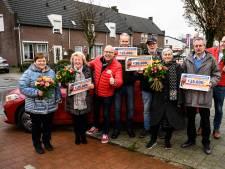 Straatprijs Postcode Loterij valt in Liessel