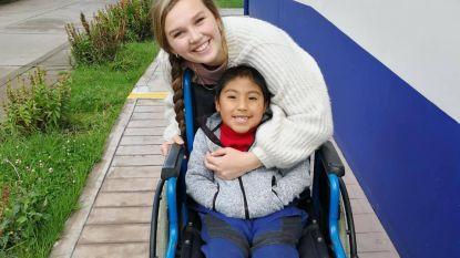 Studente Soetkin helpt twee maanden lang kinderen met beperking in Peru