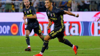 Cristiano Ronaldo loodst Juventus met nieuwe treffer voorbij promovendus