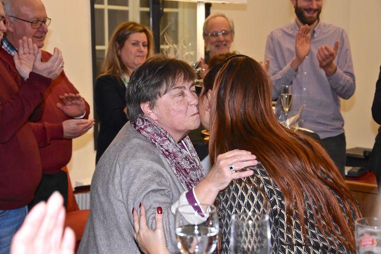 Afscheidnemende raadsleden - Katrien Dousy met 18 jaar anciënniteit in de OCMW-raad