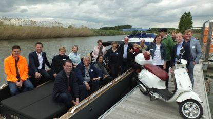 Zulte lanceert nieuwe dagtrip met de boot en de Vespa
