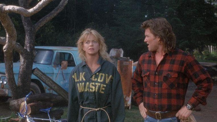 Goldie Hawn en Kurt Russell in Overboard van Garry Marshall. Beeld