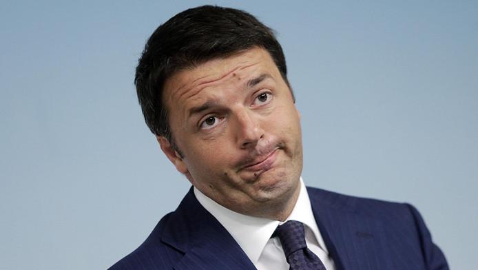 Le président du Conseil Matteo Renzi