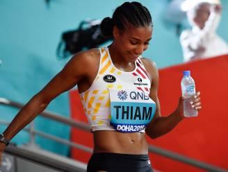 """Nafi Thiam: """"Ben tevreden, enkel jammer dat ik de 200 meter alléén moest lopen"""""""
