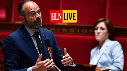HLN LIVE.  Kunnen we deze zomer weer op vakantie in Frankrijk? Premier Édouard Philippe kondigt versoepelingen aan