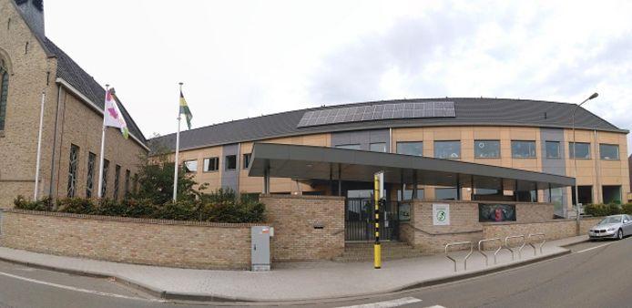 De lagere school in Nieuwkerke