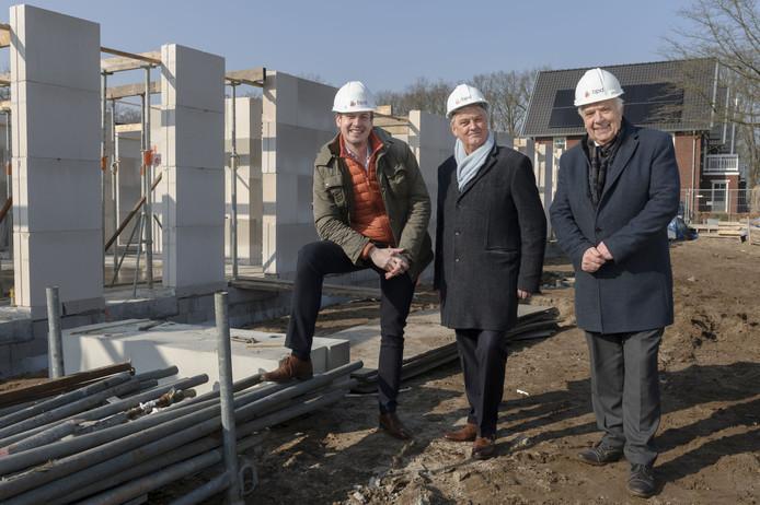 De bouw van 21 huurappartementen in Stadhouderspark is gestart.